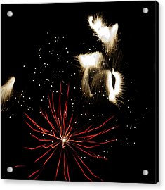 Abstract Fireworks IIi Acrylic Print