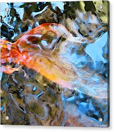 Abstract Fish Art - Fairy Tail Acrylic Print by Sharon Cummings