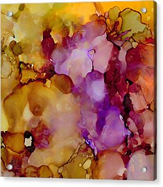 Abstract Floral #22 Acrylic Print