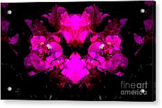 Abstract Floral No.2 Acrylic Print