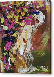 Abstract Floral Study Acrylic Print