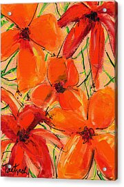 Abstract Floral Two Acrylic Print