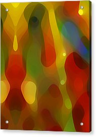 Abstract Flowing Light Acrylic Print by Amy Vangsgard