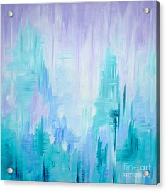 Abstract Frost 1 Acrylic Print