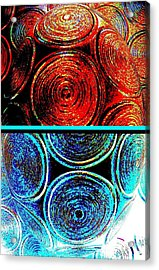 Acrylic Print featuring the digital art Abstract Fusion 275 by Will Borden