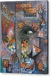 Abstract Ganesha  Acrylic Print