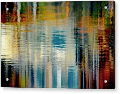 Abstract  Acrylic Print by Gillis Cone