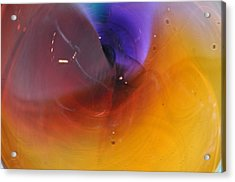 Abstract Glass 56 Acrylic Print by Marty Koch
