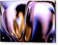 Acrylic Print featuring the photograph Abstract Glass by Eric Christopher Jackson