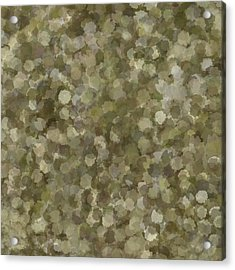 Acrylic Print featuring the photograph Abstract Gold And Cream 2 by Clare Bambers