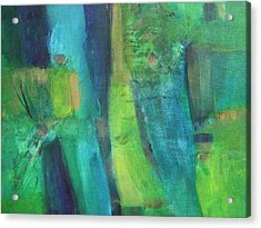 Abstract Green Acrylic Print