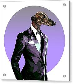 Abstract Greyhound 2 Acrylic Print