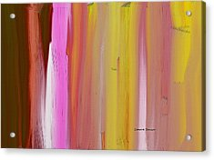 Abstract Horizontal Acrylic Print