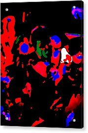 Abstract Images Acrylic Print by HollyWood Creation By linda zanini