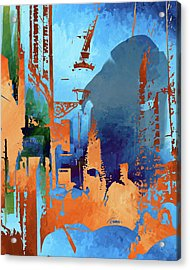 Abstract  Images Of Urban Landscape Series #1 Acrylic Print