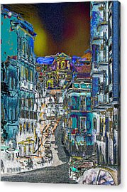 Abstract  Images Of Urban Landscape Series #11 Acrylic Print