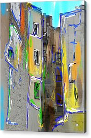 Abstract  Images Of Urban Landscape Series #13 Acrylic Print