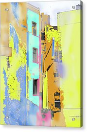 Abstract  Images Of Urban Landscape Series #2 Acrylic Print