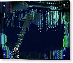Abstract  Images Of Urban Landscape Series #7 Acrylic Print