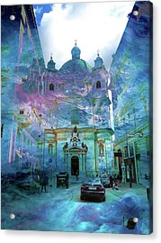 Abstract  Images Of Urban Landscape Series #9 Acrylic Print