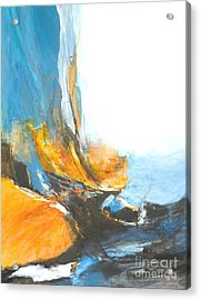 Abstract In Motion Acrylic Print by Glory Wood