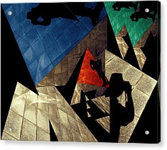 Acrylic Print featuring the photograph Abstract Iterations by Wayne Sherriff