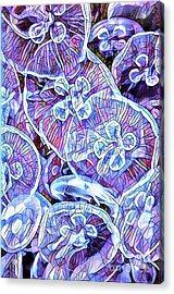 Abstract Jellyfish Acrylic Print