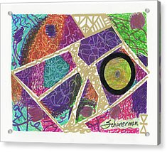 Puzzle Jungle Acrylic Print