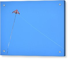 Abstract Kite Flying Acrylic Print