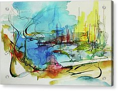 Abstract Landscape #1 Acrylic Print