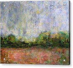 Abstract Landscape #310 - Spring Rain Acrylic Print