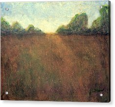Abstract Landscape #212 - Art By Jim Whalen Acrylic Print