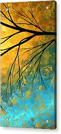 Abstract Landscape Art Passing Beauty 2 Of 5 Acrylic Print by Megan Duncanson