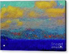 Abstract Landscape Expressions Acrylic Print