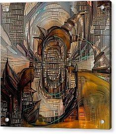 Abstract Liberty Acrylic Print