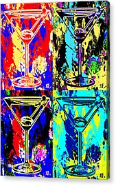 Abstract Martini's Acrylic Print