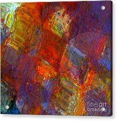 Abstract Moments Acrylic Print by Fania Simon