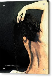Abstract Nude Art 1 Acrylic Print