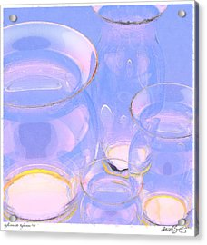 Acrylic Print featuring the photograph Abstract Number 18 by Peter J Sucy