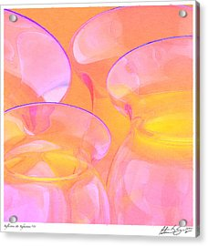 Acrylic Print featuring the photograph Abstract Number 19 by Peter J Sucy
