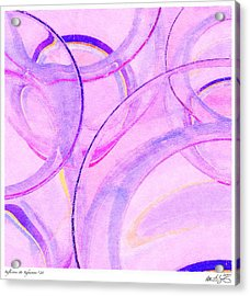 Acrylic Print featuring the painting Abstract Number 20 by Peter J Sucy