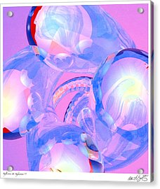 Acrylic Print featuring the photograph Abstract Number 7 by Peter J Sucy