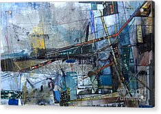 Abstract Nyc #2 Acrylic Print