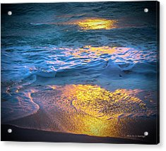 Abstract Of Beach Acrylic Print
