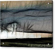 Abstract On River Acrylic Print