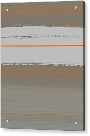 Abstract Orange 4 Acrylic Print