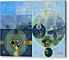 Abstract Painting - Bermuda Grey Acrylic Print