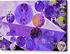 Abstract Painting - Blackcurrant Acrylic Print by Vitaliy Gladkiy