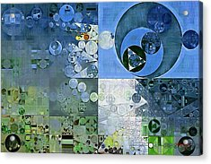 Abstract Painting - Breaker Bay Acrylic Print by Vitaliy Gladkiy