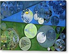 Abstract Painting - Burnham Acrylic Print